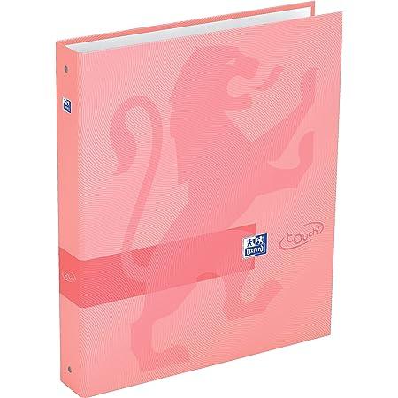 Oxford Touch Classeur 4 anneaux A4 dos 40 mm carte Couleurs Aléatoires 400084076
