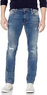 Nudie Unisex Thin Finn Rumbling Blues Jeans