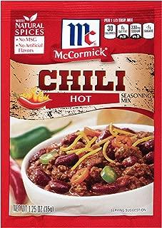 McCormick Hot Chili Seasoning Mix, 1.25 oz
