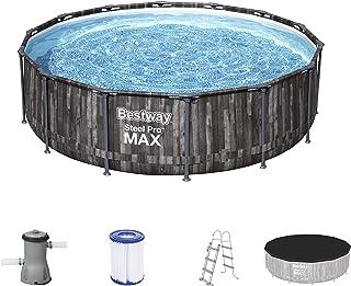 Bestway Pool Set Steel Pro Max Black 427X107Cm