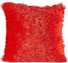 Taraf Red 45 X 45 Cm Velour Cushion