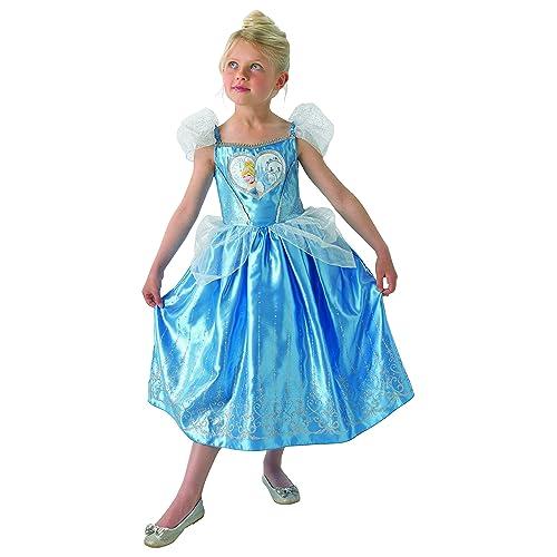 ae9d064faebe Rubie's Loveheart Cinderella Girls Fancy Dress Disney Fairytale Kids  Childrens Costume