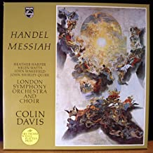 SAL 3564-6 Handel Messiah London Symphony Orchestra Colin Davis 3 LP box