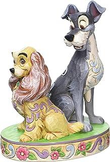 Frog Studio Home Disney Traditions 4046040 los opuestos se atraen (Lady y Saco 60th Aniversario) New 2015