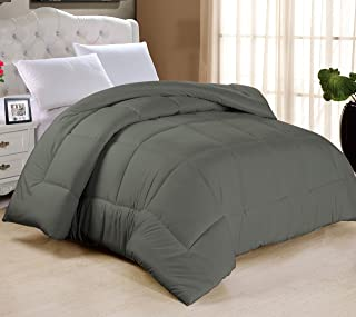 Swift Home All-Season Extra Soft Luxurious Classic Light-Warmth Goose Down-Alternative Comforter, Full 78