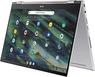 "ASUS Chromebook Flip C436 2-in-1 Laptop, 14"" Touchscreen FHD NanoEdge, Intel Core i3-10110U, 128GB PCIe SSD, Fingerprint, ..."