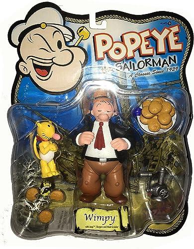 POPEYE the Sailorman Classiv TV Actionfiguren Reihe  WIMPY mit JEEP