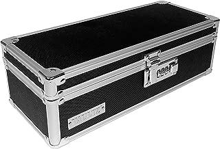 Vaultz Locking Medicine Storage Box with Combination Lock, 3.75