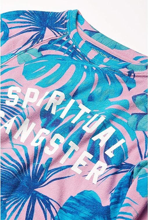 Pink Hawaiian Print