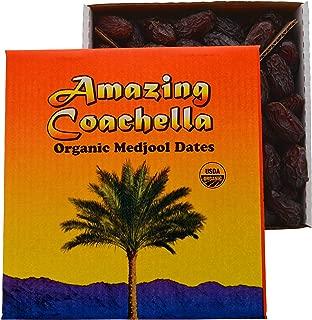 Amazing Coachella Organic Medjool Dates, 5 Pounds