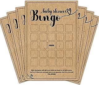 blank baby bingo