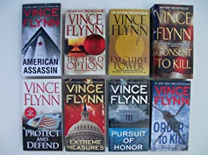 Mitch Rapp Series (Set of 8 Books) The Third Option; Executive Power; American Assassin; Consent to Kill; Protect and Defe...