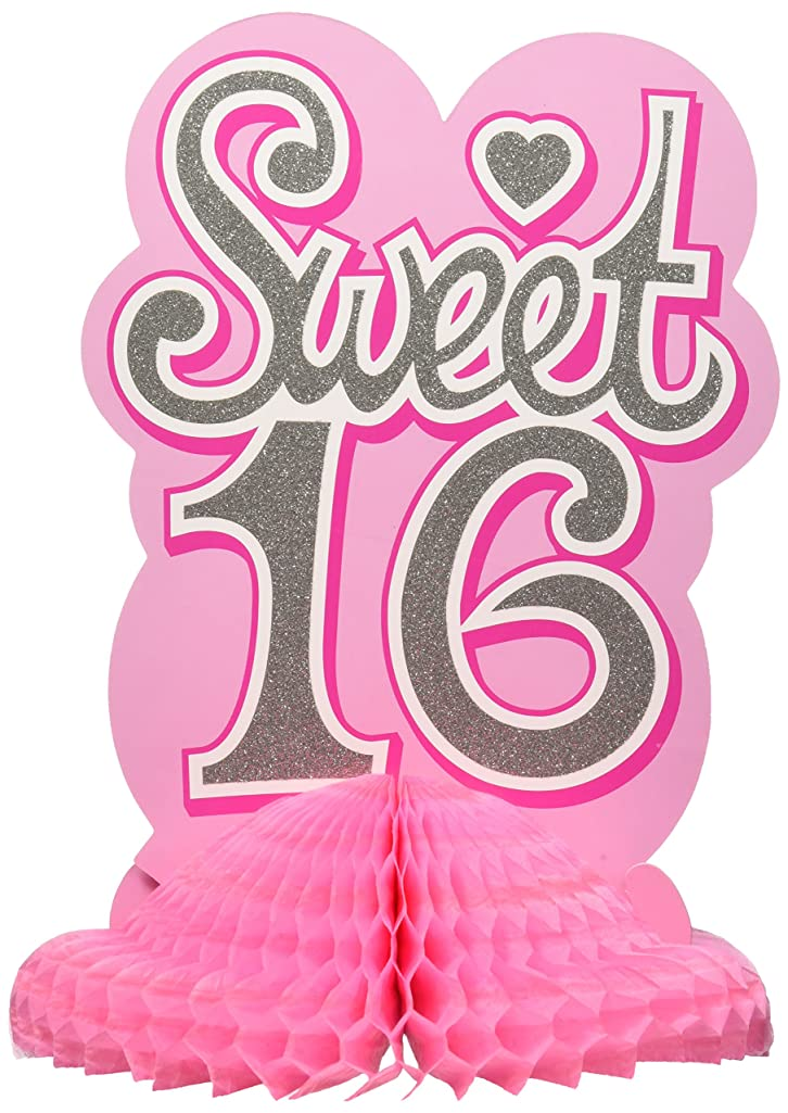 Sweet 16 Centerpiece Party Accessory (1 count)