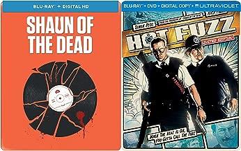 Edgar Wright Steelbook Collection - Shaun of the Dead & Hot Fuzz Blu-ray 2-Movie Bundle