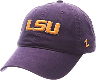 NCAA Lsu Tigers Men's Scholarship Relaxed Hat, Adjustable Size, Team Color