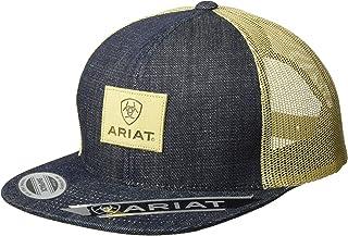 ARIAT Men's Logo Patch Snapback Cap