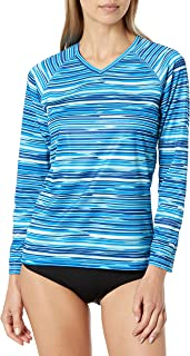 Kanu Surf Women's UPF 50+ Long Sleeve Active Swim Tee & Workout Top