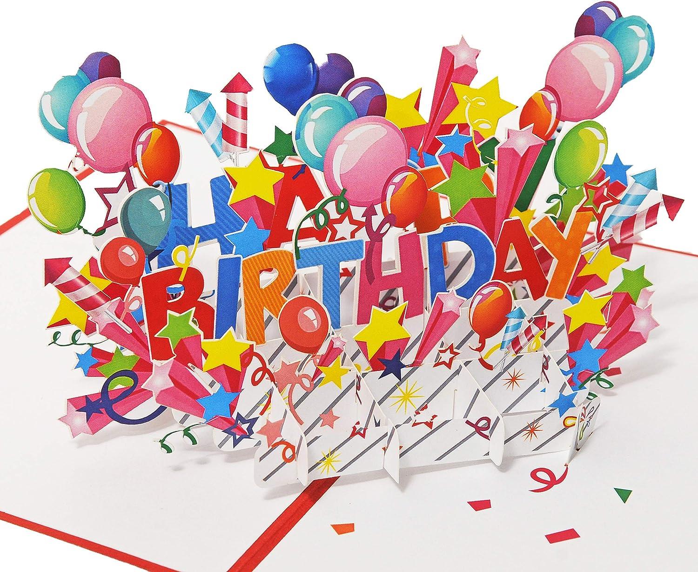 Brilliantrot Favour Pop Up Happy Birthday