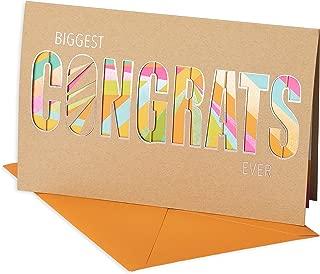 American Greetings Congratulations Card (Biggest Congrats Ever)