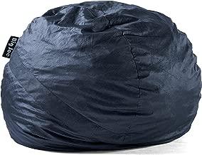 Big Joe Fuf Foam Filled Bean Bag Chair, Large, Cobalt Lenox