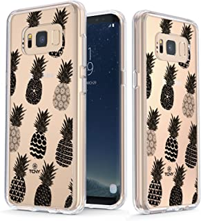True Color Watercolor Clear Shield Tribal Ornamental Pineapples For Samsung Galaxy S8 Plus