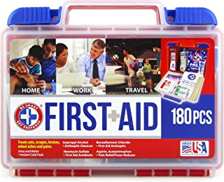 Sponsored Ad - Be Smart Get Prepared First Aid Kit - 180 Piece