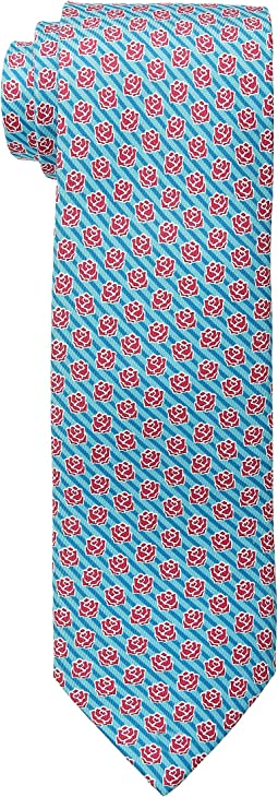 Vineyard Vines Kentucky Derby Printed Tie - Rose Stripe