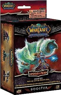 Upper Deck World of Warcraft Miniatures Game Spoils of War Booster pack