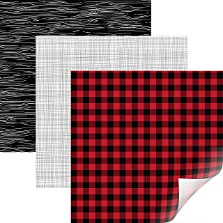buffalo plaid vinyl cricut