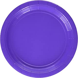 Amscan New Purple Paper Plate Big Party Pack, 6 Pk.