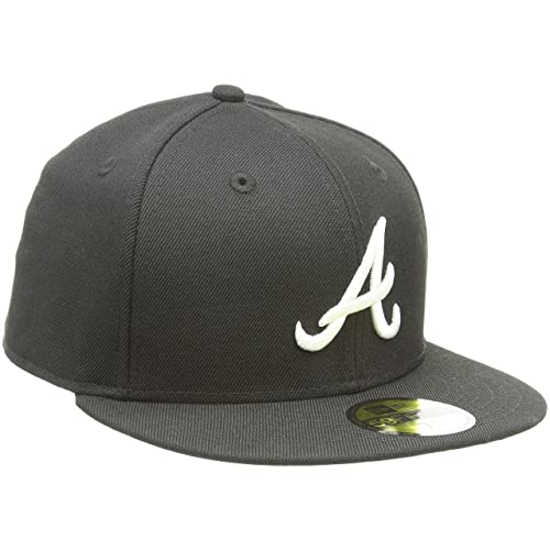 8aed668505a4 New Era Erwachsene Baseball Cap Mütze MLB Basic Atlanta Braves 59 Fifty  Fitted