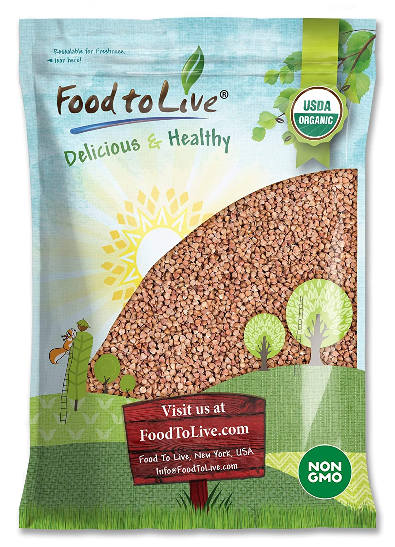 Organic Buckwheat Kasha Seasonal Wrap Introduction 15 Pounds Grechka Whole gift - Toasted Groa