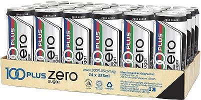 100 Plus Zero Sugar, 24 x 325ml