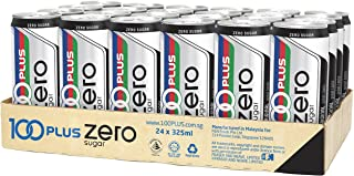 100 Plus Zero Sugar, 325ml, (Pack of 24)