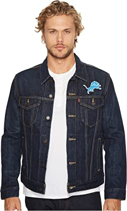 Lions Sports Denim Trucker