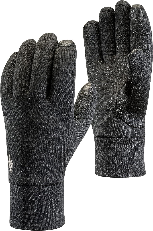 Black Diamond Equipment - Midweight GridTech Gloves - Black - Small