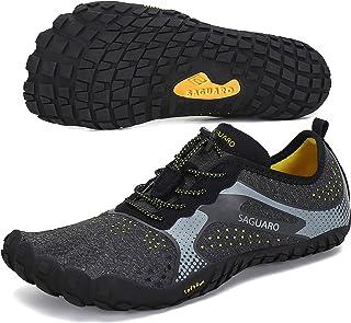 SAGUARO Versátil Minimalistas Zapatillas Ligeras Flexibles para Exterior Interior - Gym Asfalto Playa Montaña, Unisex-Adulto