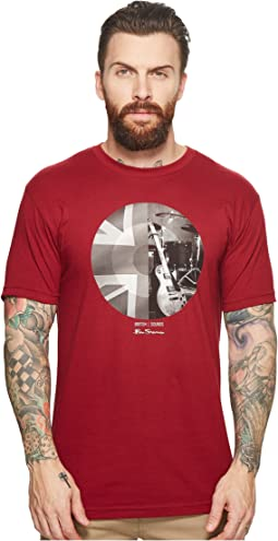 Ben Sherman - Union Jack Circle Screen Tee