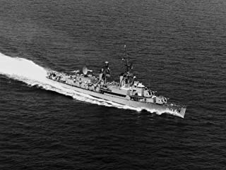 Home Comforts The U.S. Navy Destroyer USS Turner (DDR-834) underway on 8 October 1965. Note The Details of This fi Vivid Imagery Laminated Poster Print 24 x 36