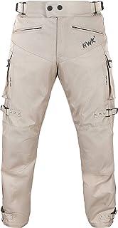 Jet Motorcycle Motorbike Biker Riding Jeans Trousers Pants Men Raw Selvedge Denim Dupont Lined Kevlar Aramid with Armor W 32 L 32, Indigo Blue