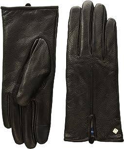 Cole Haan - Deerskin Single Point Gloves