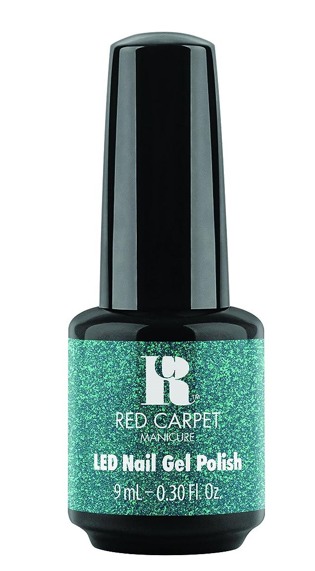 スキーム音声ディスパッチRed Carpet Manicure - LED Nail Gel Polish - Designer Series - Shimmering Gown - 0.3oz / 9ml