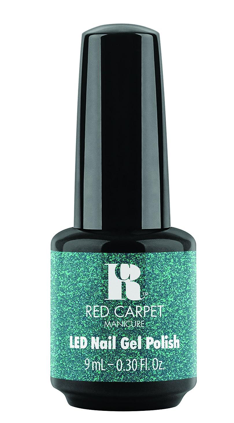 前投薬土有効化Red Carpet Manicure - LED Nail Gel Polish - Designer Series - Shimmering Gown - 0.3oz / 9ml