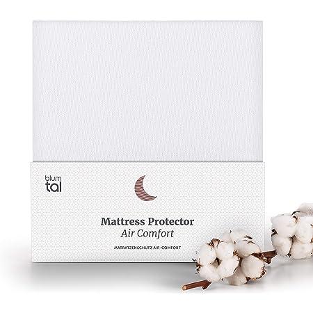 Blumtal - Protege Matelas 140 x 190 Impermeable - Alese 140x190 - Protege Matelas 140x190 Anti Acarien - Respirant - Bruit Réduit - Lot de 1