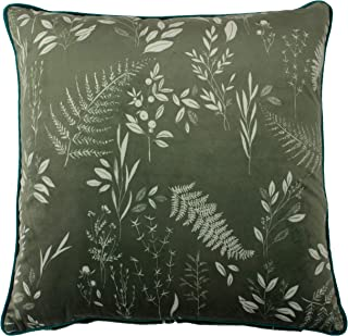 """furn. Fearne Cushion Cover - Polyester - Sage - 50cm x 50cm (20"""" x 20"""" inches)"""