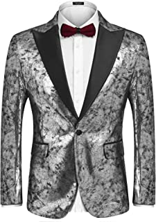 Best silver prom tuxedos Reviews