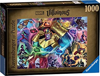 Ravensburger Marvel Villainous Thanos 1000 Piece Jigsaw Puzzles for Adults & Kids Age 12 Years Up