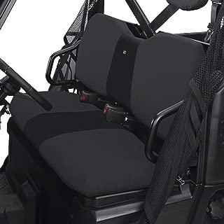 Classic Accessories QuadGear UTV Seat Cover for Polaris Ranger XP/HD (Bench), Black