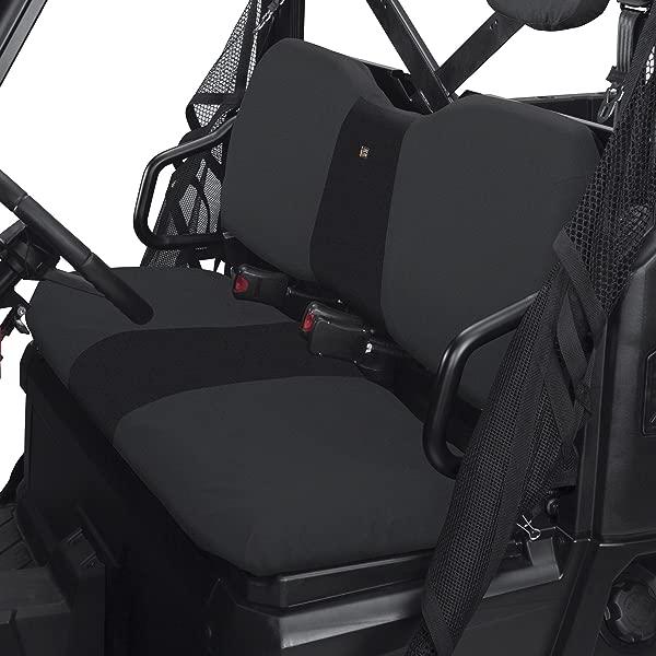 Classic Accessories QuadGear UTV Seat Cover For Polaris Ranger XP HD Bench Black