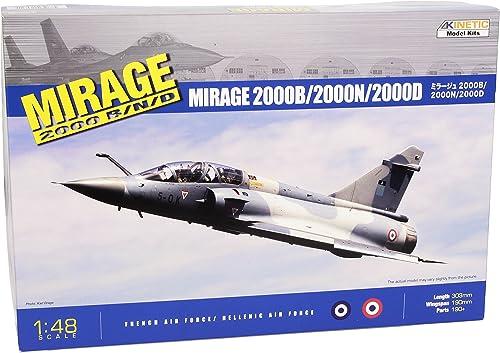 Kinetic 1 48 - Dassault Mirage 2000B   2000D   2000N - KIN48032